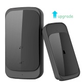 Compare Home Living Waterproof Wireless Doorbell Touch Uk Plug Adapter Upgrade 280M Long Range Smart Door Bell Chime 1 Button 1 Receiver For Dog Intl