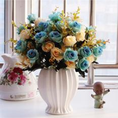 Price Mimosifolia Home Decorations Artificial Flowers Wedding Party Rose Set Vase Intl On Hong Kong Sar China