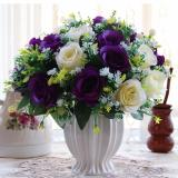Mimosifolia Home Decorations Artificial Flowers Wedding Party Rose Set Vase Intl Discount Code