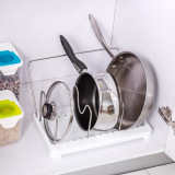 Latest Kitchen Pot Storage Rack Lid Rack Cutting Board Rack