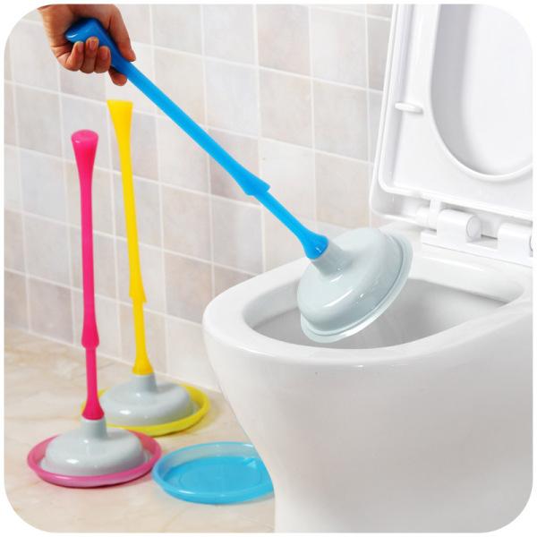 Ju la casa Toilet Tool Toilet Pump Drainage Facility Plunger Pedestal Pan Blocking Suction the Useful Product Toilet Plunger Swab