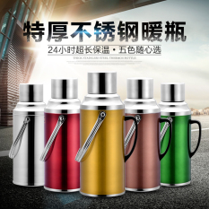 Wholesale Home Hot Water Bottle Thermos Stainless Steel Thermos Insulation Pot Large Capacity Open Bottle Glass Liner