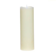 Best Deal Simplux Led Candle Flameless Candle Moving Wick Free Flowing 3D Fireless Flame Real Wax Led Pillar Candle Light With Timer Home Wedding Candle Battery Operated