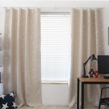 Home Living Curtains Drapes Blackout Thermal Solid Window Curtai 130 190Cm Beige Intl For Sale Online