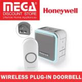 Buy Honeywell Hw Dc515Ngbs Wireless Plug In Doorbell With Sleepmode Nightlight And Push Button Grey