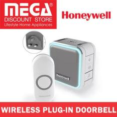 Best Deal Honeywell Hw Dc515Ngbs Wireless Plug In Doorbell With Sleepmode Nightlight And Push Button Grey