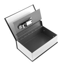 Shop For Hot Black Steel Dictionary Hidden Secret Book Safe Money Box Security Key Lock Intl