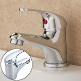 Price Comparisons For Hot Cold Chrome Classic Bathroom Single Side Lever Basin Sink Water Mixer Tap Intl