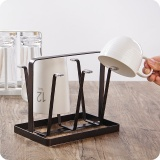 Buy Hot Japanese Iron Lek Water Cup Holders Cup Holders Cups Glass Shelves Tea Trays Intl China