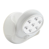 Brand New Hot Sale 6V 7 Leds Cordless Motion Activated Sensor Light Lamp 360 Degree Rotation Wall Lamps White Porch Light For Indoor And Outdoor