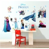 Promo Hot Sell Popular Ice And Snow Princess Colors Christmas Wallstickers Decorative Children Living Room Bedroom Stickers Cc6969 Intl