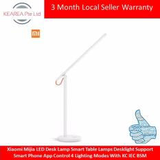 Cheap Hot Sell Xiaomi Mijia Led Desk Lamp Smart Table Lamps Desklight Support Smart Phone App Control 4 Lighting Modes With Kc Iec Bsm Online