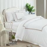 Buy Hotelier Prestigio™ Rosewood Vector Embroidery Fitted Sheet Set Hotelier Prestigio™ Original