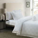 Who Sells The Cheapest Hotelier Prestigio™ White Sateen Square Fitted Sheet Set Online
