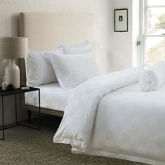 Discount Hotelier Prestigio™ White Sateen Square Fitted Sheet Set Hotelier Prestigio™