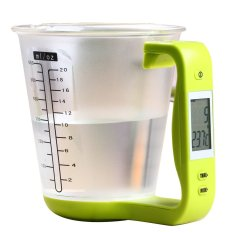Price Household Kitchen Diy Baking Cooking 600Ml Multi Functional Detachable Digital Electronic Measuring Cup With Temperature Lcd Display And Scale Green Intl Vococal