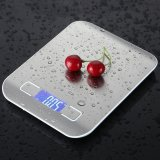 Price Comparison For Household Scales Lcd Digital Kitchen Scale 5Kg X 1G Weight Food Diet Halloween Cooking Tool With Super Slim Stainless Steel Intl