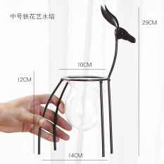 Modern Green Radish Desktop Decoration Vase Glass Bottle Online