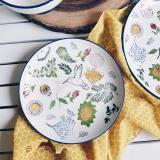 Buy Hymn Dove Salad Plate Online