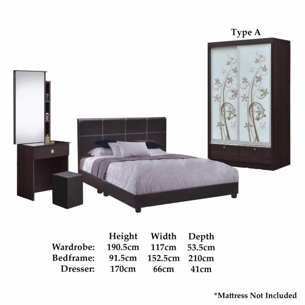LIVING MALL INCA Bedroom Set FREE DELIVERY