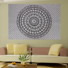 Indian Mandala Wall Hippie Twin Tapestry Bedspread Throw Gypsy Home Decor New