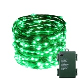 Where To Shop For Indoor And Outdoor Waterproof Battery Operated 200 Led String Lights On 20M Long Ultra Thin Copper String Wire With 8 Lighting Modes Intl