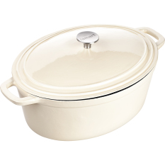 Get The Best Price For Induction Ready Cast Iron Pot With Lid 33X25Cm 6L