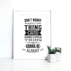 Inspiration Quote Canvas Art Print Painting Poster, Wall Pictures for Home Decoration, Home Decor FA085 (Export)
