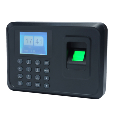 Intelligent Biometric Fingerprint Password Attendance Machine Employee Checking-In Recorder 2.4 Inch Tft Lcd Screen Dc 5v Time Attendance Clock - Intl By Tomtop.
