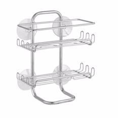 List Price Interdesign Classico Suction Shower Shelve Silver Idco604662 Interdesign