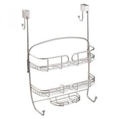 Interdesign Neo Over Door Shower Caddy Bathroom Storage For Shampoo Conditioner And Soap Satin Shop