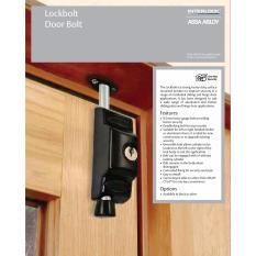 Price Comparisons For Interlock Securi Lockbolt Door Bolt