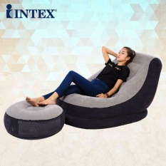 INTEX high quality foldable strong waterproof comfortable inflatable sofa camping inflatable mat - intl