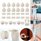 Invisible Magnetic Locks Safety Baby Magnetic Cupboard Drawers Locks Door Child Baby Pet Intl Shopping