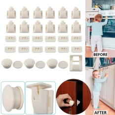 Invisible Magnetic Locks Safety Baby Magnetic Cupboard Drawers Locks Door Child Baby Pet Intl Coupon