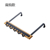 Buy Strong Wrought Iron Nailless Door Hanging Rack On China