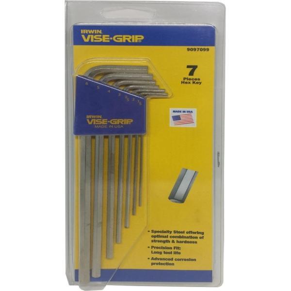 Irwin 7pc 1.5-6.0mm Pro Xl Hex Key Set [T9097099]