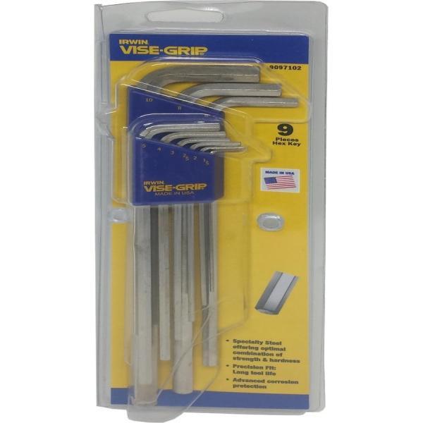 Irwin 9pc 1.5-10mm Pro Xl Hex Key Set [T9097102]
