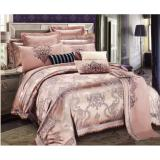 Retail Isleep 100 Soft Cotton Silk Feel Elegant Jacquard Bed Sheet Sets
