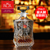 Great Deal Italy Rcr Imported Crystal Glass Hot Is Whiskey Wine Bottle Home Jug Wine