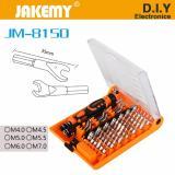 Price Jakemy Jm 8150 Screwdriver Tools Set 52 In 1 Intl China