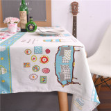 Price Japan And South Korea Cotton Hotel Square Cloth Tablecloth On China