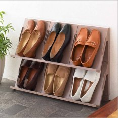 Compare Price Japan Made Stackable Storage Shoe Rack Oem On China