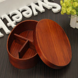 Retail Price Japanese Bento Box Wood Lunch Box Handmade Natural Wood Sushi Box Tableware Bowl Intl