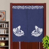 Best Rated Japanese Style Curtain Fabric Four Seasons Off The Curtain Kitchen Curtain Bedroom Feng Shui Curtain Embroidery Half Curtain Bathroom Curtain Cloth