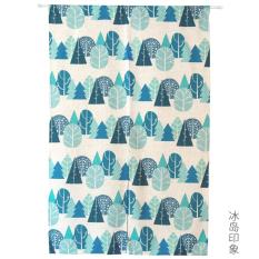 Great Deal Korean Style Cotton Linen Child Bedroom Curtain Door Curtain