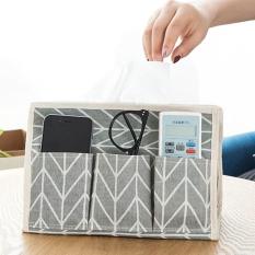 jaywog Multifunctional Six Bags Of Pumping Paper Case / Flodable Desktop Storage Box, Grey - intl
