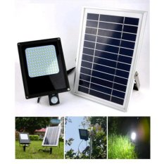 JIANYI 15W Solar Powered Floodlight / Spotlight, Outdoor Waterproof Security Light 120pcs 3528led for Home, Garden, Lawn, Pool - intl