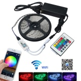 Jiawen 5M Waterproof Ip65 Smart Home Wi Fi Rgb Led Strip Light Kit Intl Price Comparison