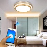 Price Comparison For Jiawen Led Wifi Wireless Ceiling Lights Indoor Smart Lighting With App Remote Control Ac 110 265V Intl